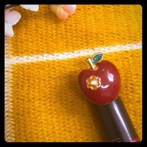 Betsey Johnson Apple Ring